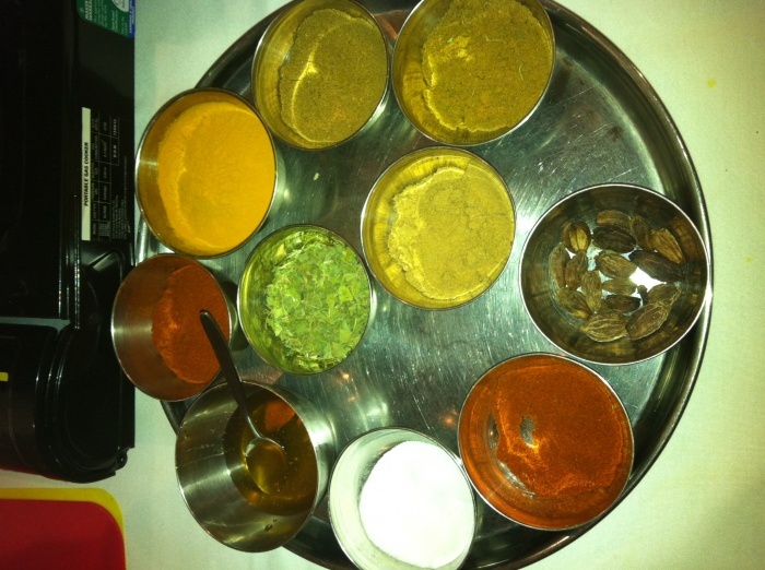 That's what you call a spice selection!