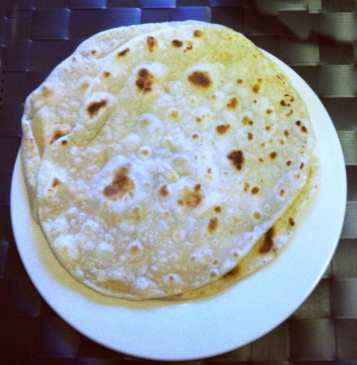Thermomix Indian Flat Bread (Roti)