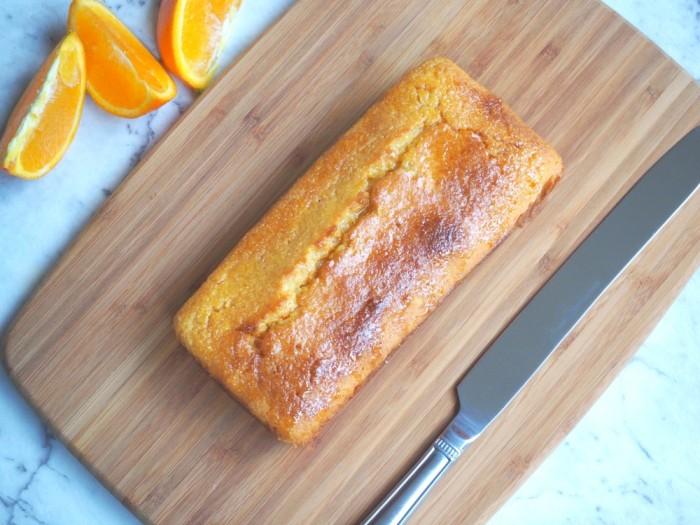 whole orange polenta cake