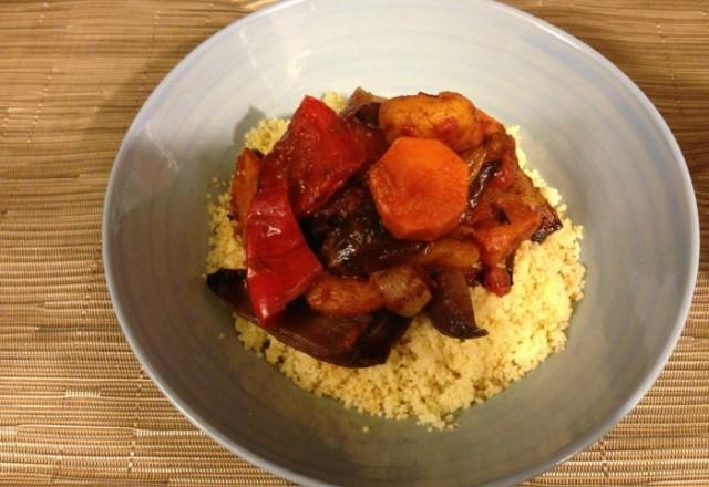 Meatless Monday – Roasted Vegetable Tagine