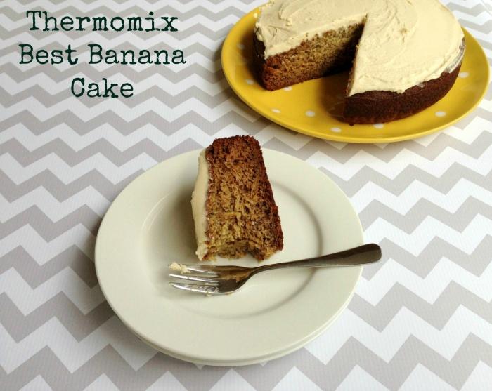 Low Sugar Banana Cake Thermomix