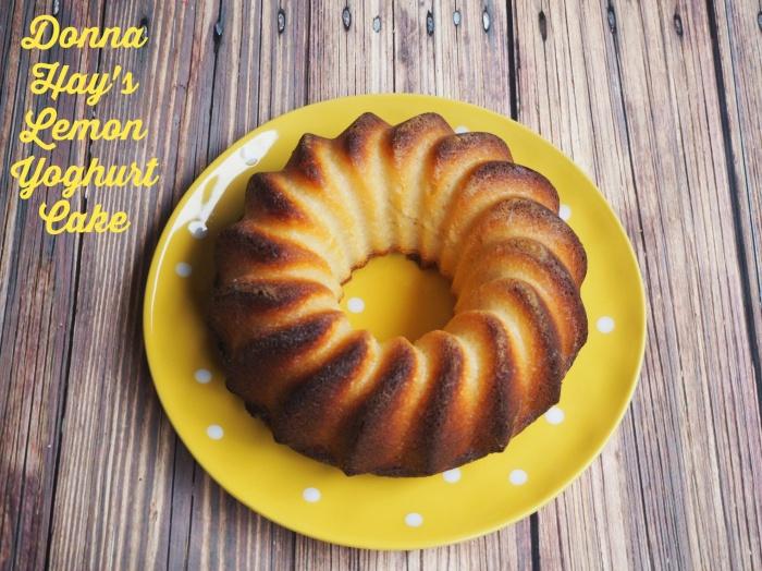 Donna Hay's Lemon Yoghurt Cake