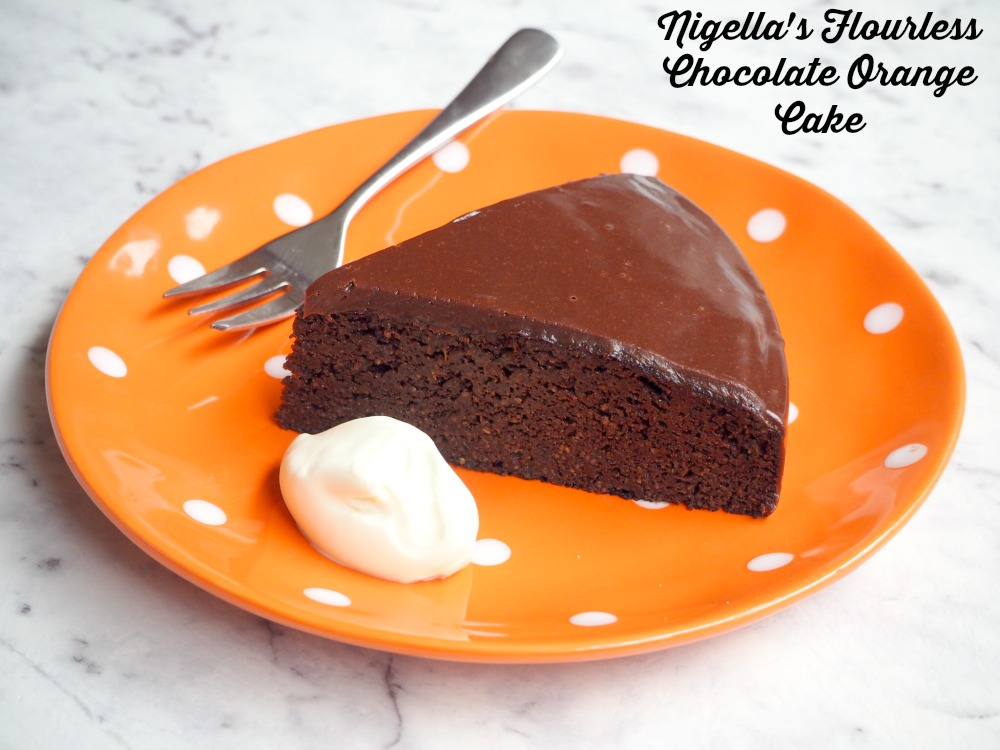Thermomix Flourless Orange Cake
