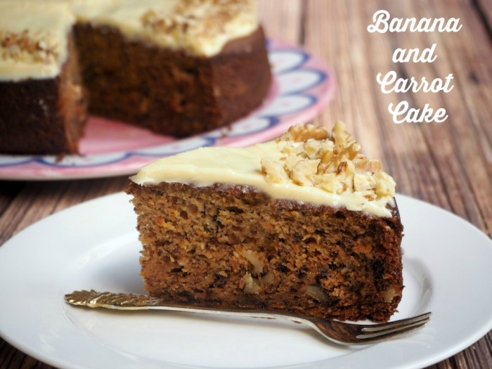 Banana and Carrot Cake