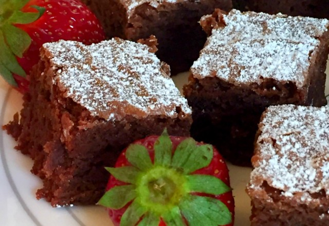 Catherine's Best Chocolate Brownies