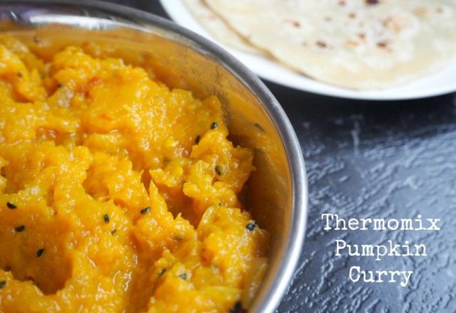 """Pumpkin Curry  and when food says """"You are Welcome."""""""