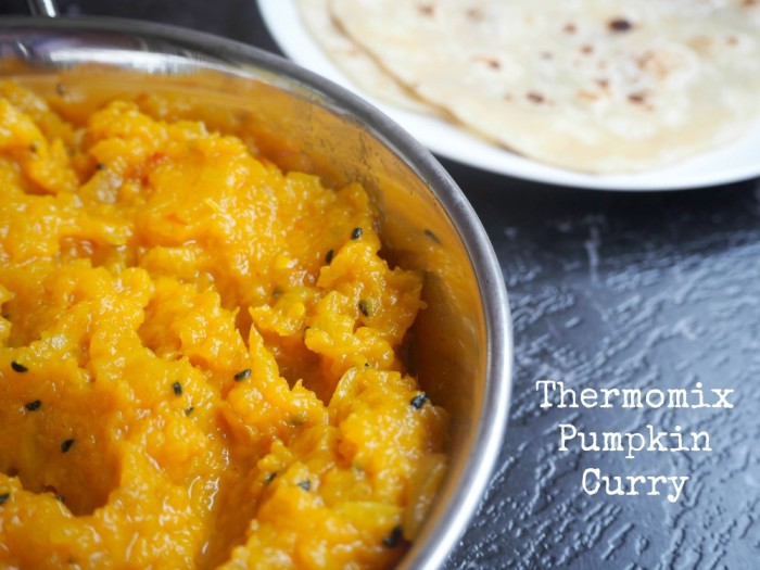 Thermomix Pumpkin Curry