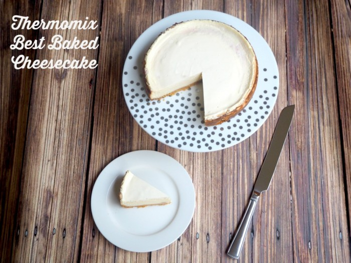 Thermomix Best Baked Cheesecake