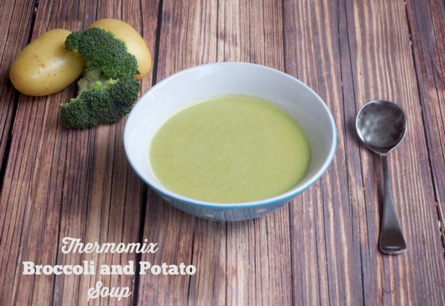 Meatless Monday – Thermomix Broccoli and Potato Soup