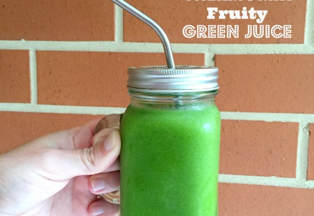 Thermomix Fruity Green Juice
