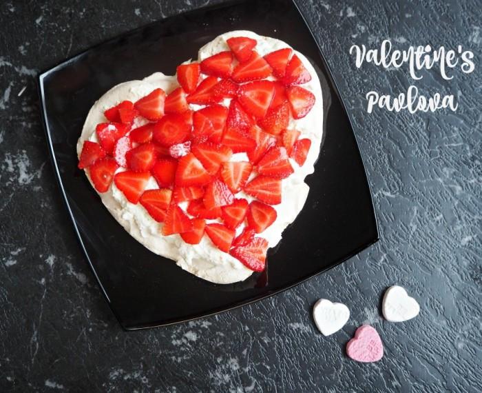 Valentine's Pavlova