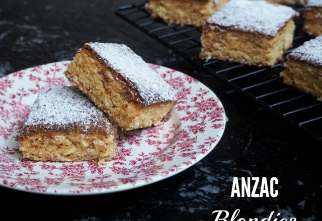 ANZAC Blondies