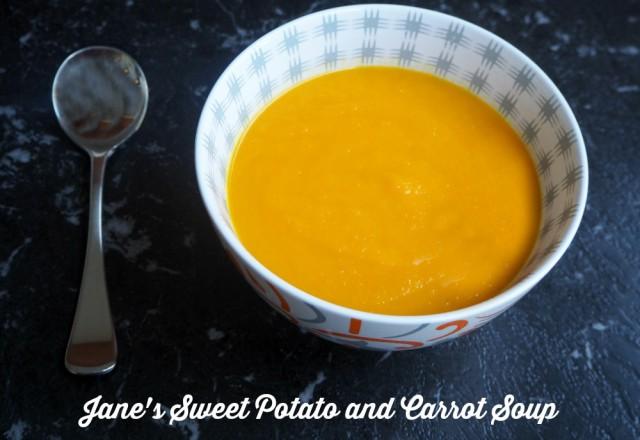 Jane's Sweet Potato and Carrot Soup