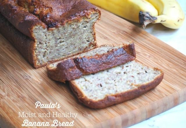 Paula's Moist and Healthy Banana Bread