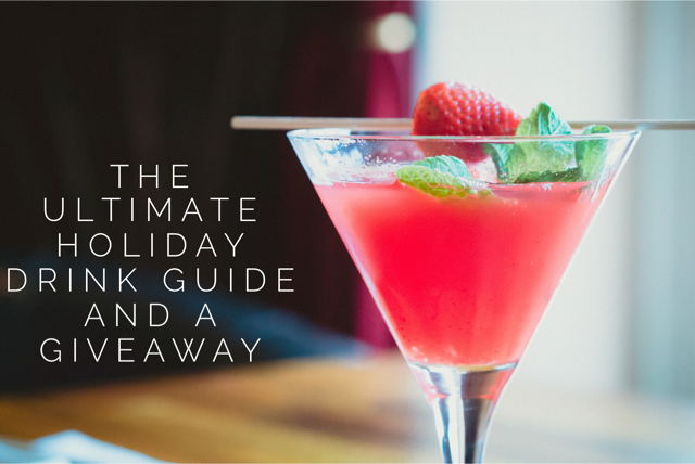 The Ultimate Holiday Drink Guide and a SodaStream Giveaway
