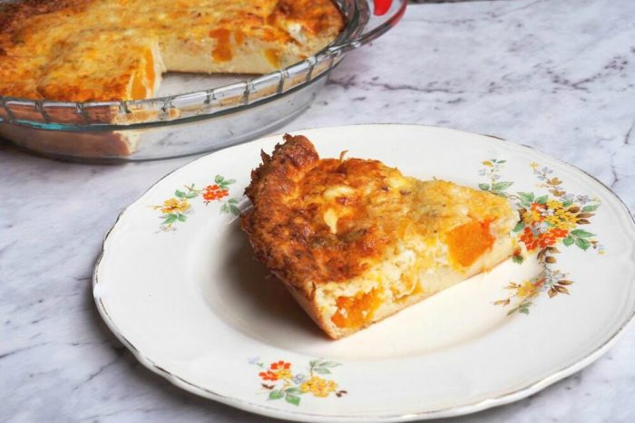 Pumpkin Impossible Pie 1