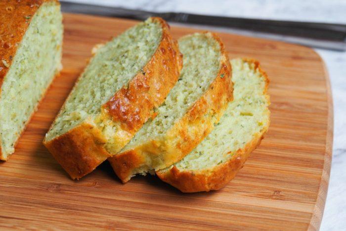 Cheddar Pesto Loaf 3