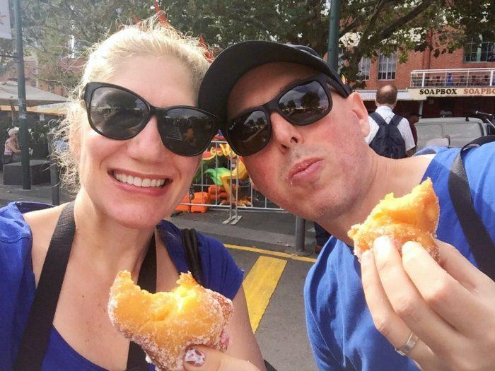 48 hours in Melbourne Donut van
