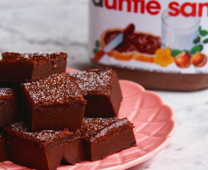 Nigella's Nutella Brownies