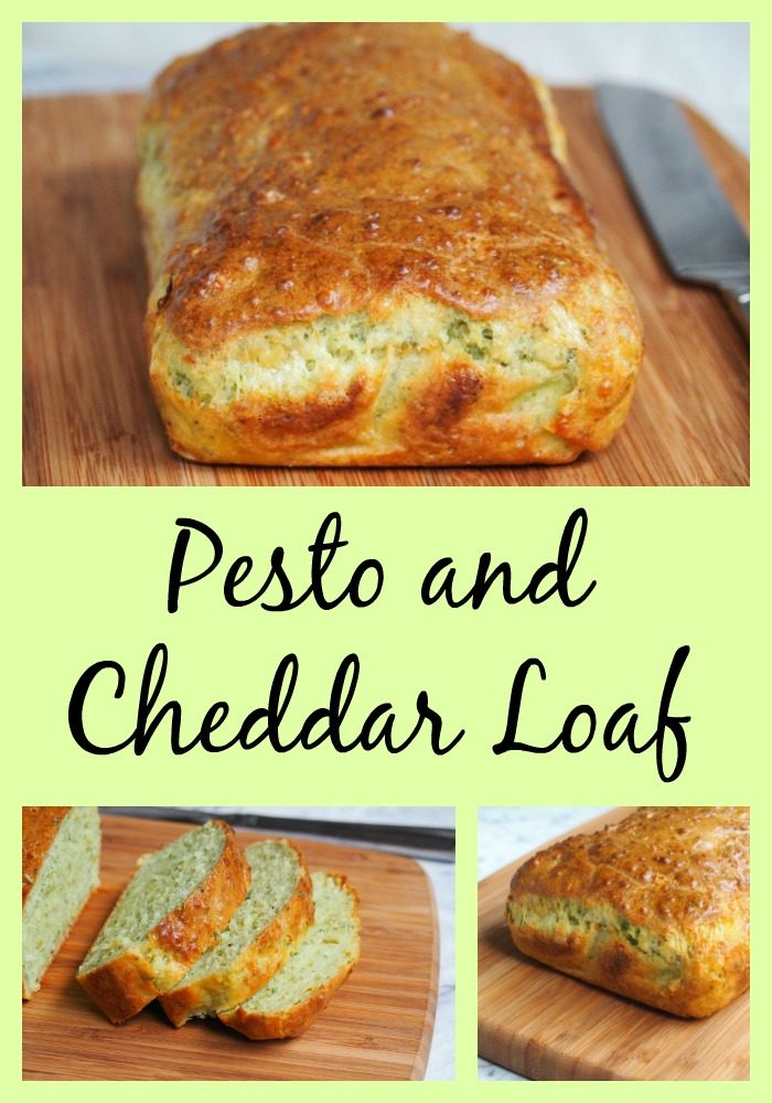 Pesto and Cheddar Loaf - The Annoyed Thyroid