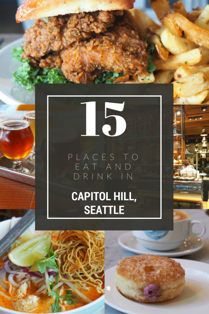 15 places to eat and drink in Capitol Hill, Seattle
