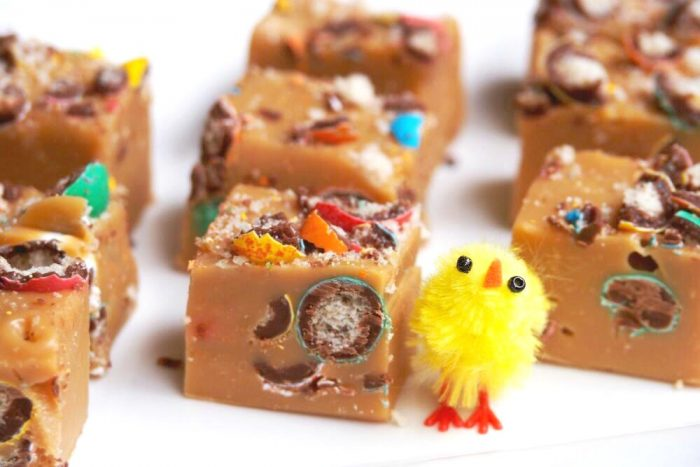 Mini Egg Fudge 4- The Annoyed Thyroid