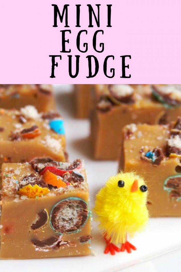 Mini Egg Fudge - The Annoyed Thyroid