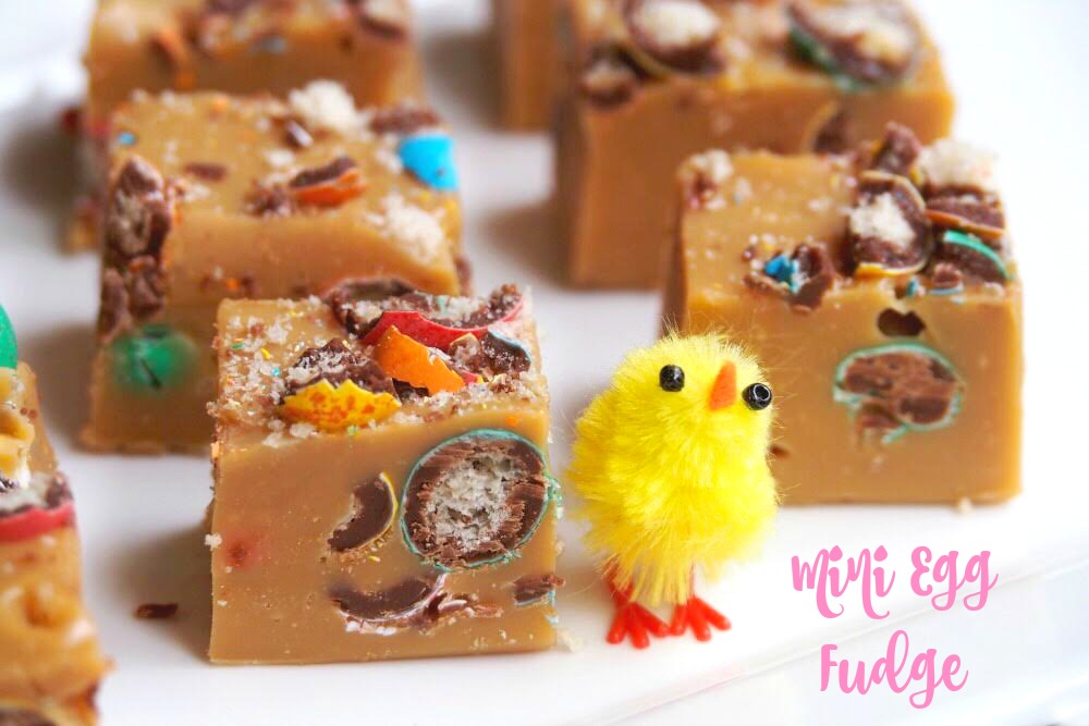 Mini Egg Fudge 2 - The Annoyed Thyroid