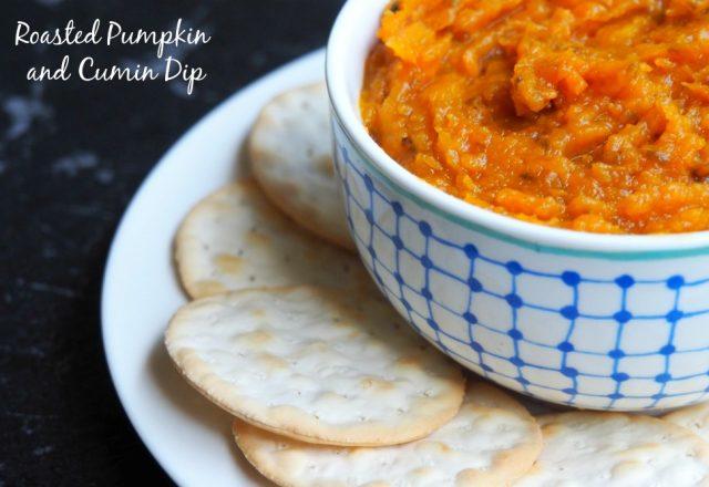Roasted Pumpkin and Cumin Dip