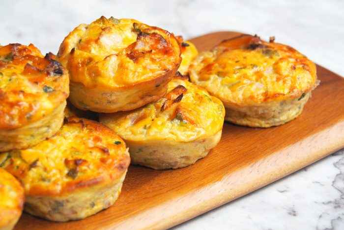 Pumpkin Sage and Feta Mini Frittatas 4