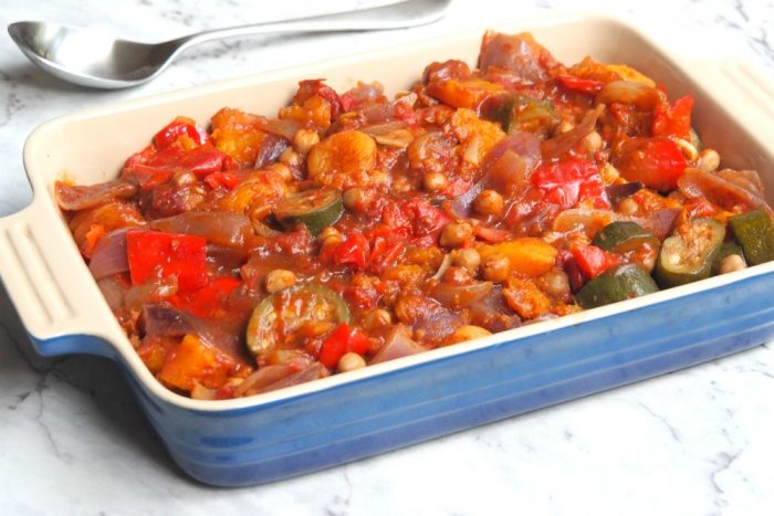 Slow Cooker Veggie and Chickpea Tagine 2
