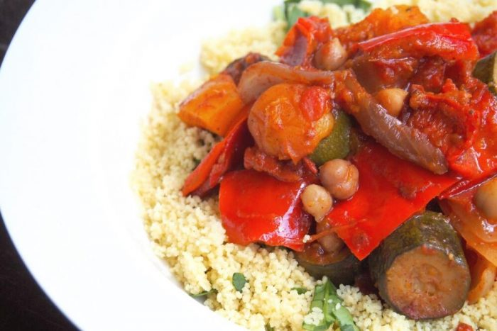 Slow Cooker Veggie and Chickpea Tagine 4