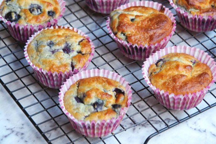 Nigella's Blueberry Muffins