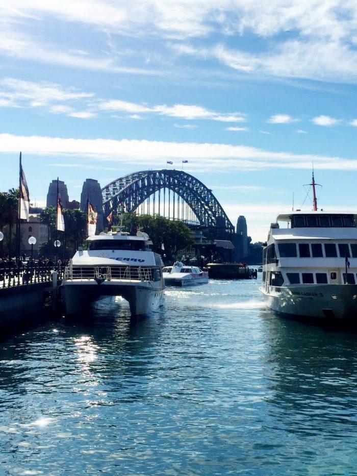 Taking stock Sydney in winter