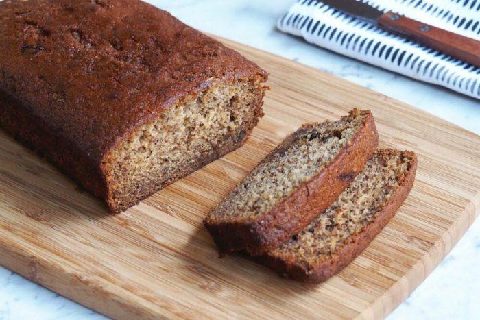 Banana and Cinnamon Loaf