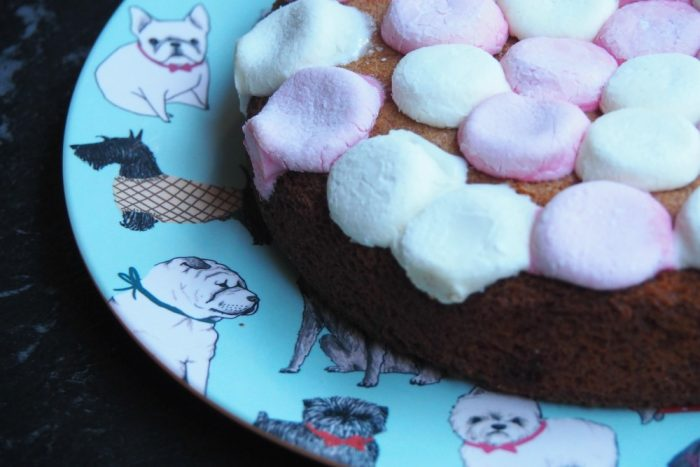Orange Marshmallow Cake