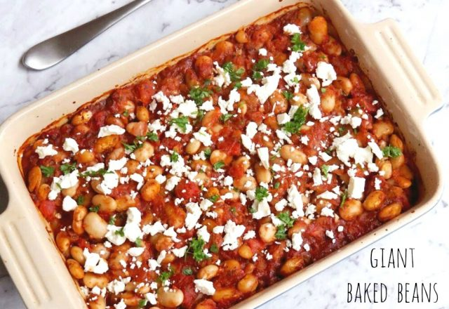 Meatless Monday – Giant Baked Beans