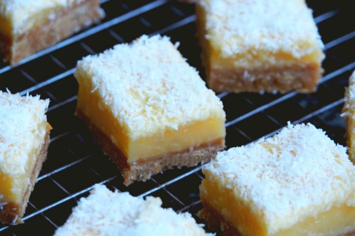 Lime and Coconut Slice 3