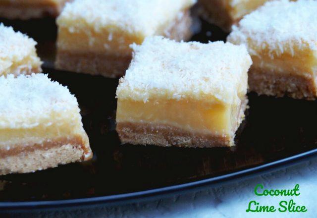 Coconut Lime Slice