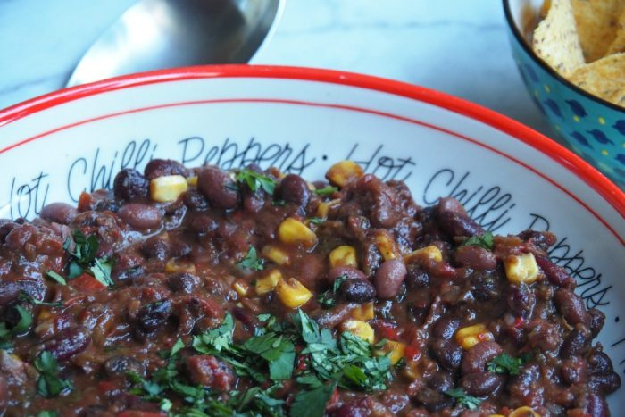 Slow Cooker Mixed Bean Chilli