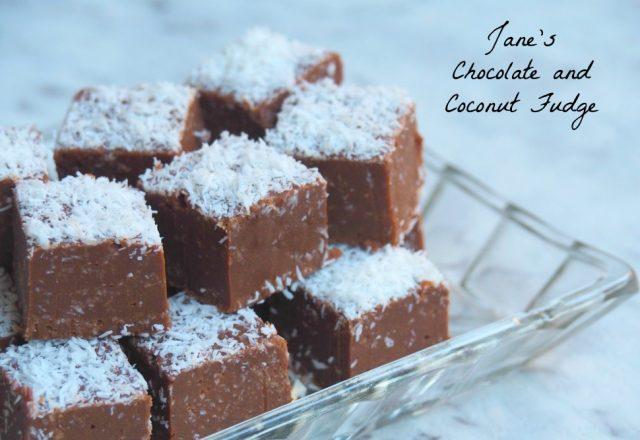 Jane's Chocolate and Coconut Fudge
