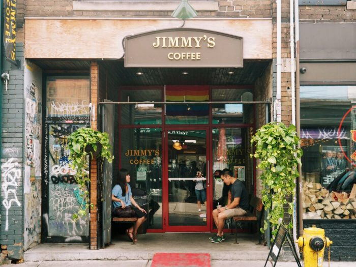 20 places to eat in Toronto - jimmy's coffee