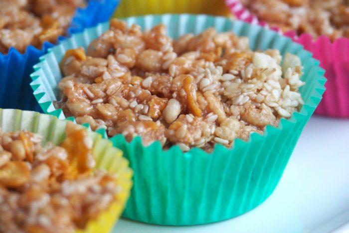 No Bake Crunchy Lunch Box Treats 4