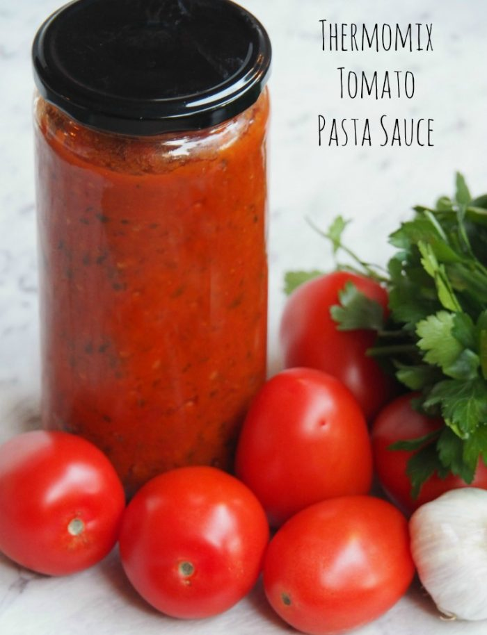 Thermomix Tomato Pasta Sauce