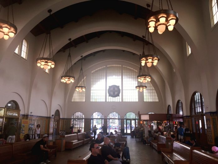 Taking Stock San Diego - Santa Fe Station