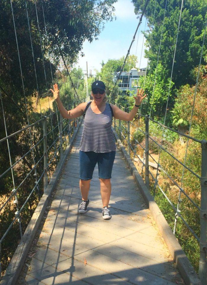 Taking stock - Spruce Street Suspension Bridge