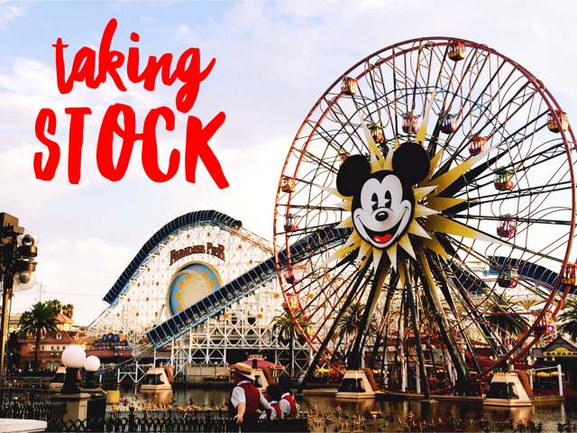 Taking Stock Disneyland 2017