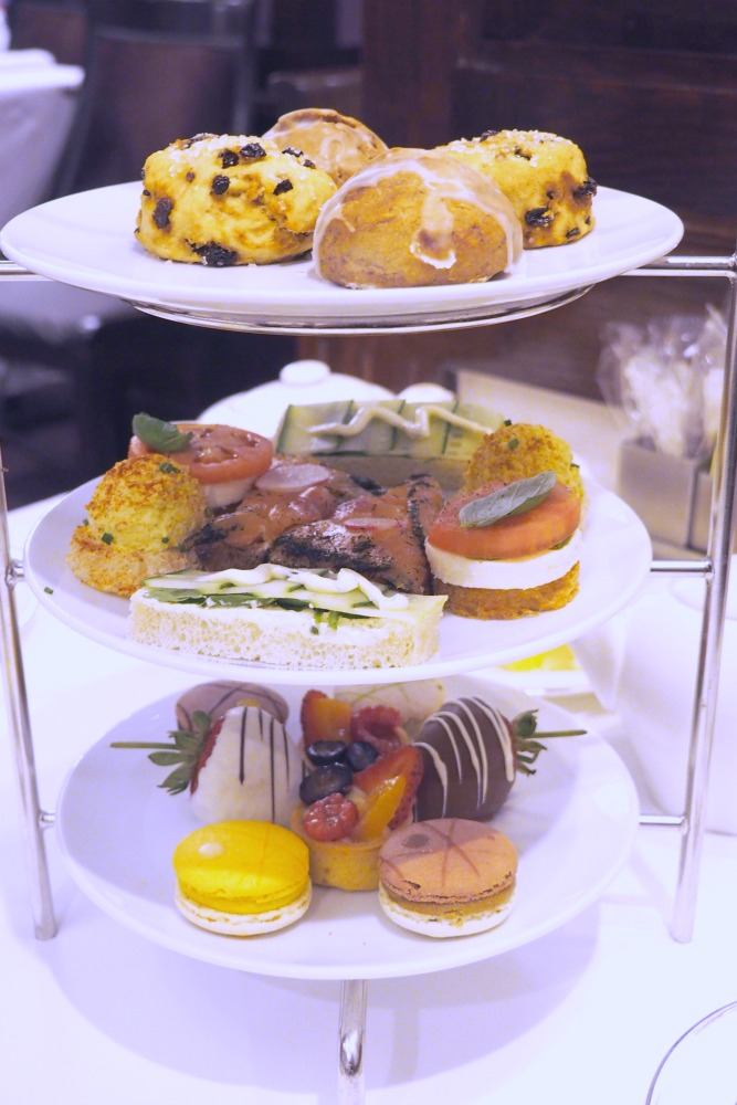 Taking Stock - high tea Disneyland Hotel