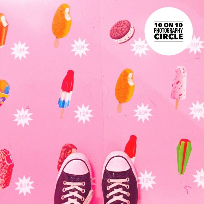 10 on 10 Photography Circle - The Museum of Ice Cream