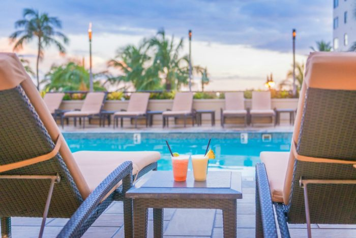 10 things for couples to do in Waikiki - pool Hyatt Regency